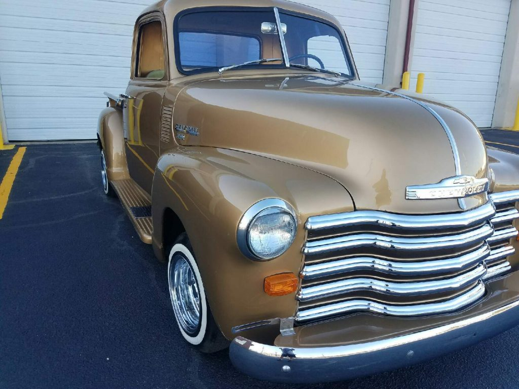 minor scratches 1949 Chevrolet Pickups 3100 custom