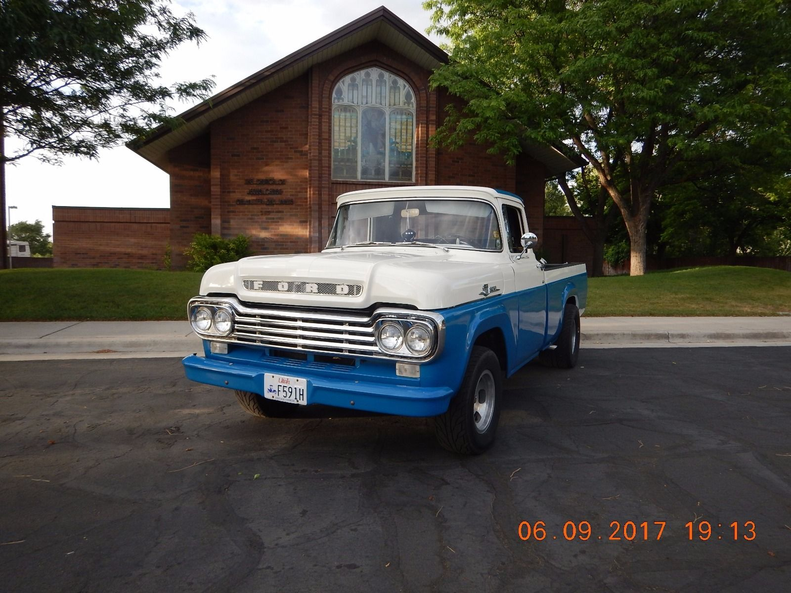 modified 1959 ford f 100 custom truck for sale. Black Bedroom Furniture Sets. Home Design Ideas