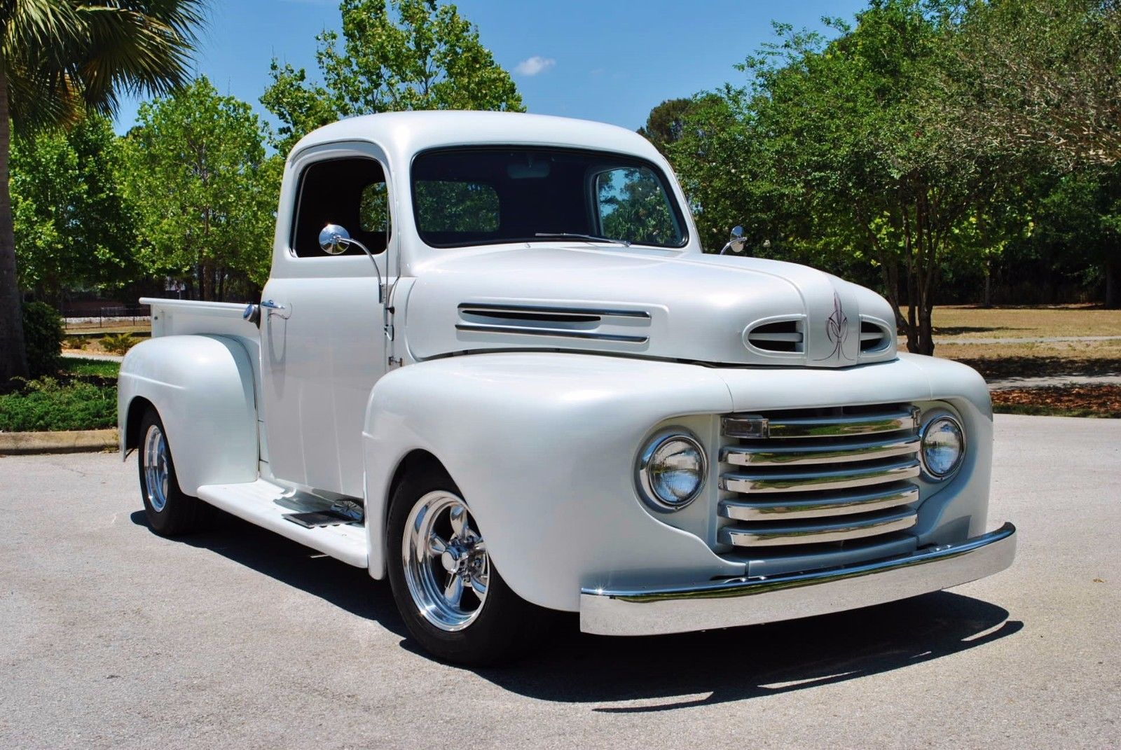 2017 Street Rod For Sale >> Mustang engine 1948 Ford Pickups F 1 Pickup Custom for sale