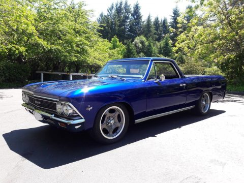 Newer engine 1966 Chevrolet El Camino custom for sale