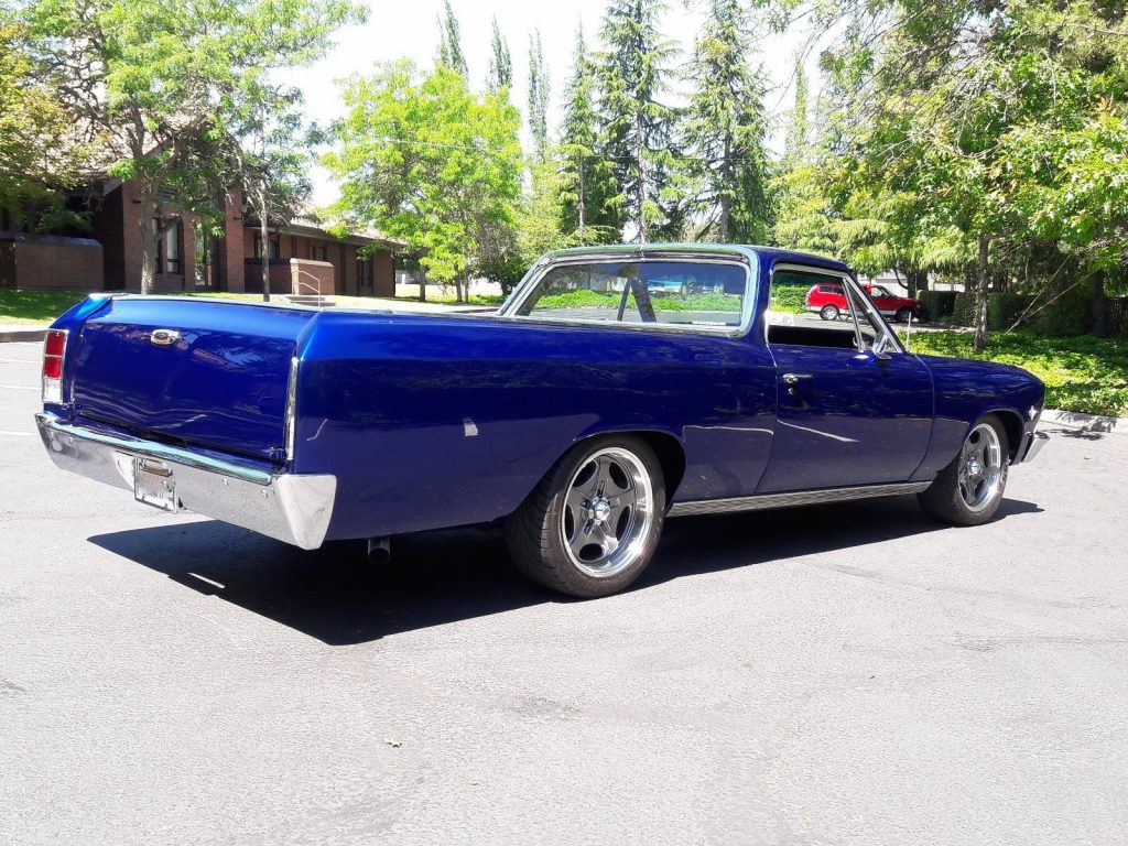 Newer Engine 1966 Chevrolet El Camino Custom For Sale Chevy