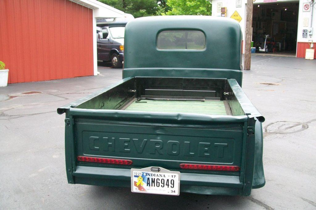 rust  chevrolet custom truck  sale