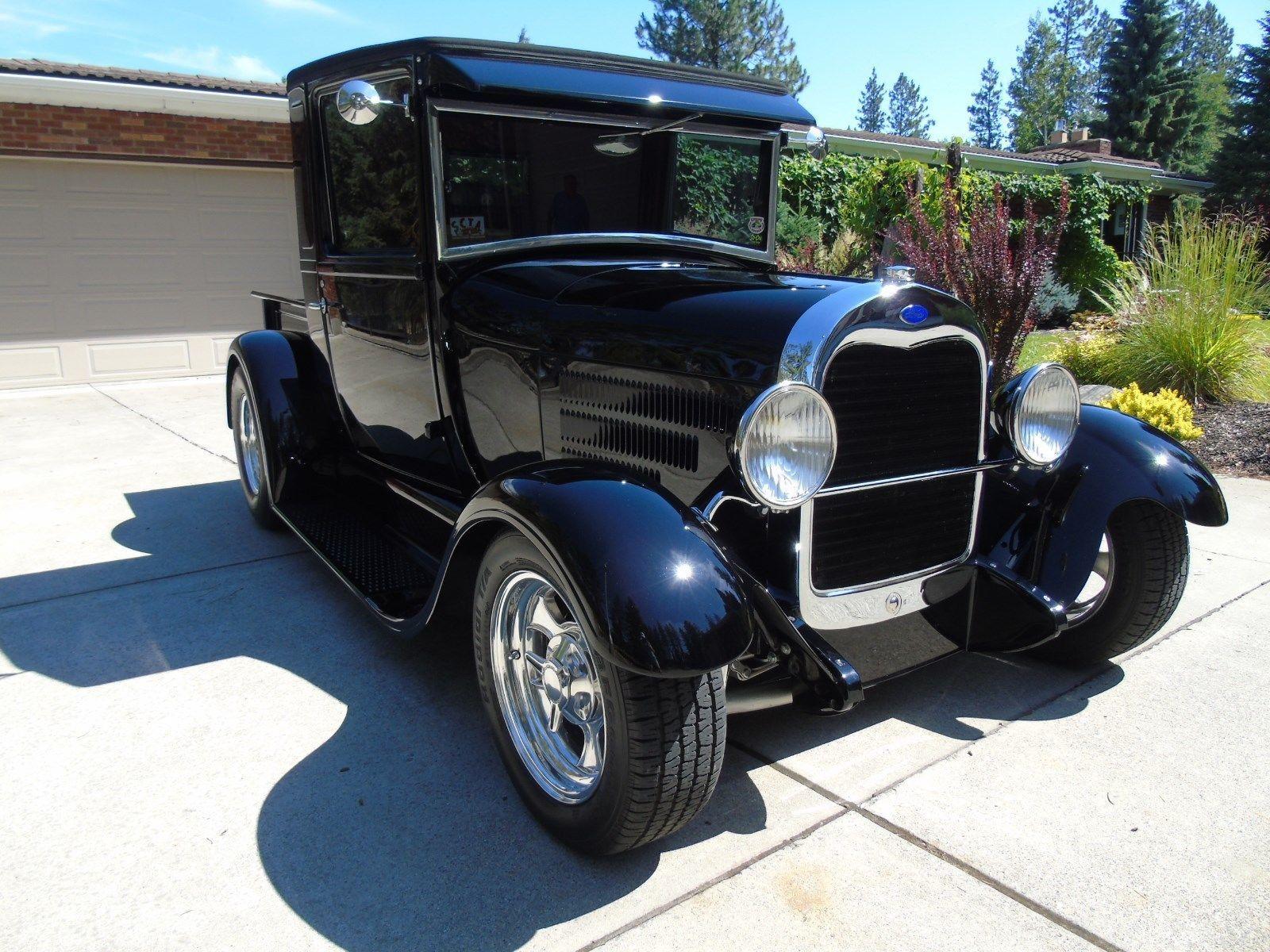 original steel body 1928 ford model a custom for sale. Black Bedroom Furniture Sets. Home Design Ideas