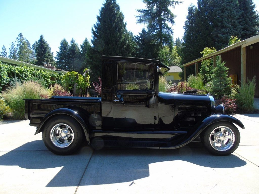 original steel body 1928 ford model a custom for sale. Black Bedroom Furniture Sets. Home Design Ideas