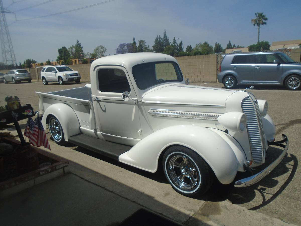 pinstriped 1937 dodge custom truck for sale. Black Bedroom Furniture Sets. Home Design Ideas