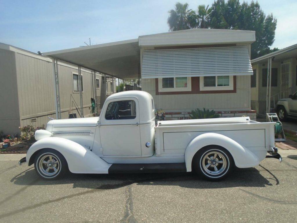 Pinstriped 1937 Dodge Custom truck