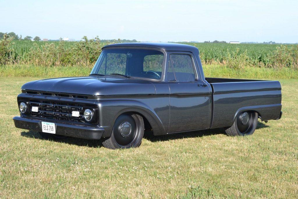 Restomod 1964 Ford F 100 custom truck
