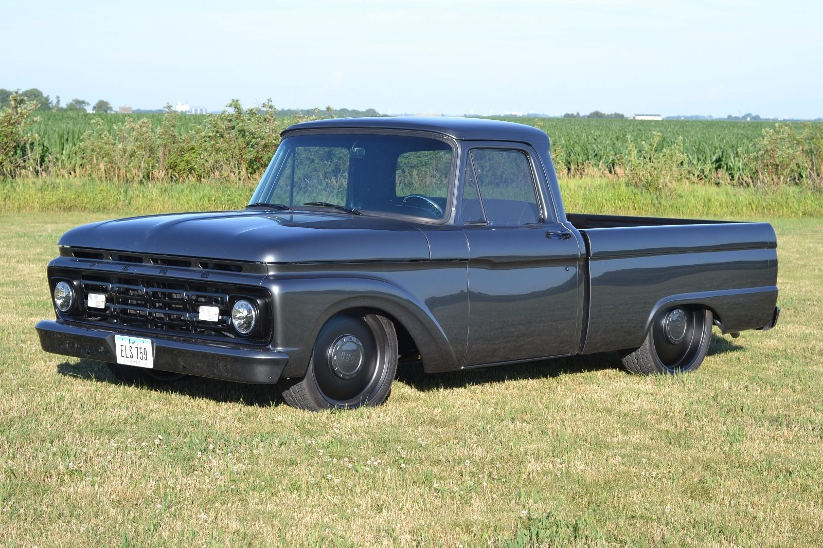 restomod 1964 ford f 100 custom truck for sale. Black Bedroom Furniture Sets. Home Design Ideas