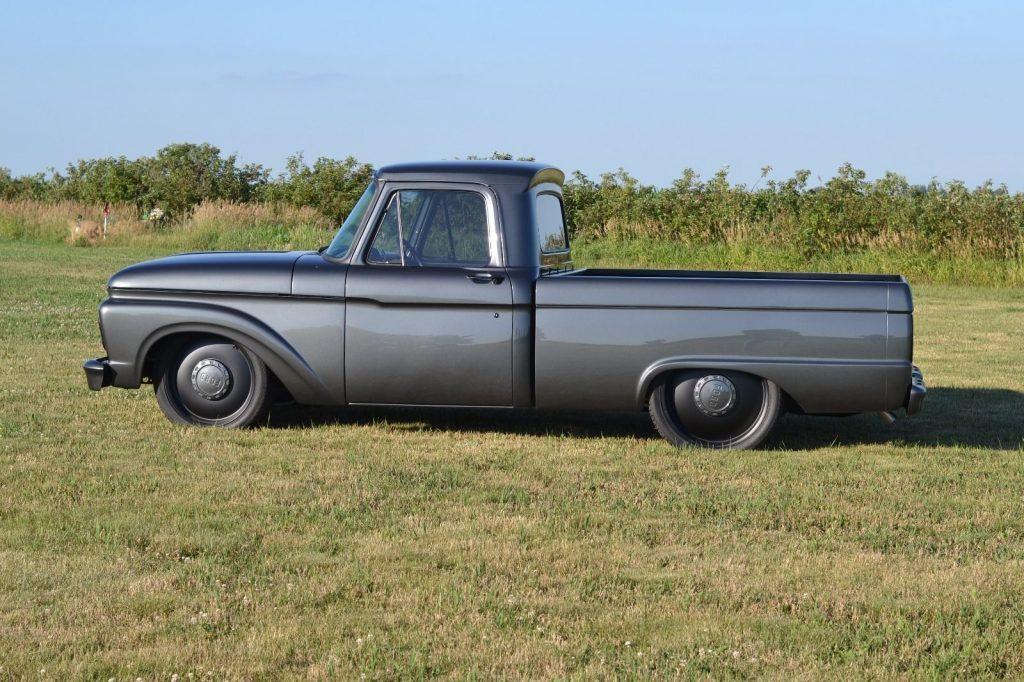 restomod 1964 ford f 100 custom truck for sale. Black Bedroom Furniture Sets. Home Design Ideas