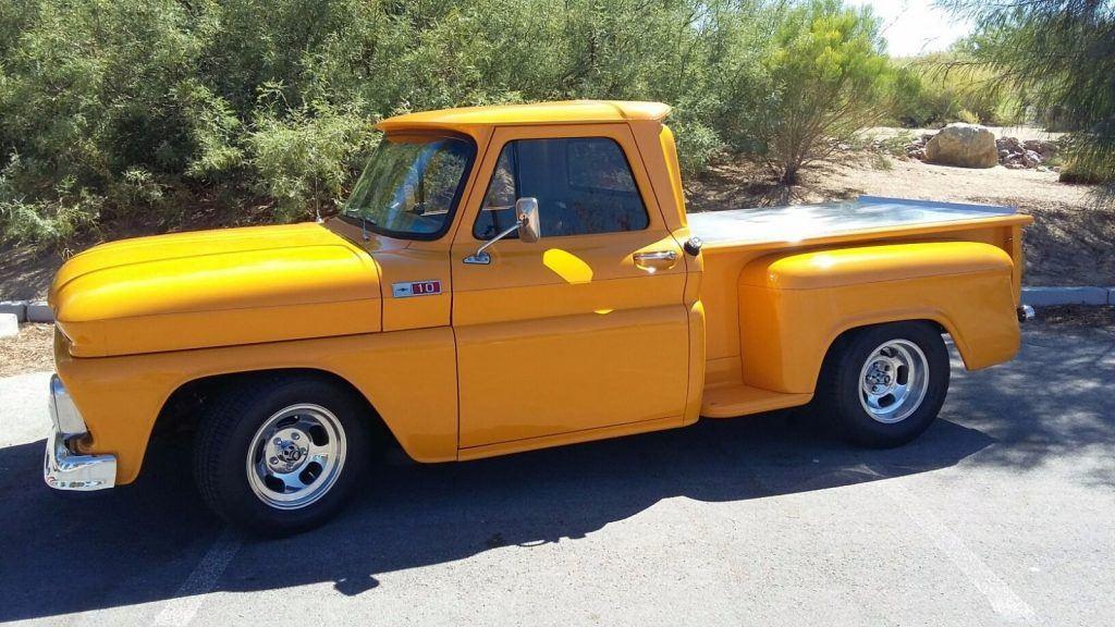 1966 stepside ford truck rear bumper