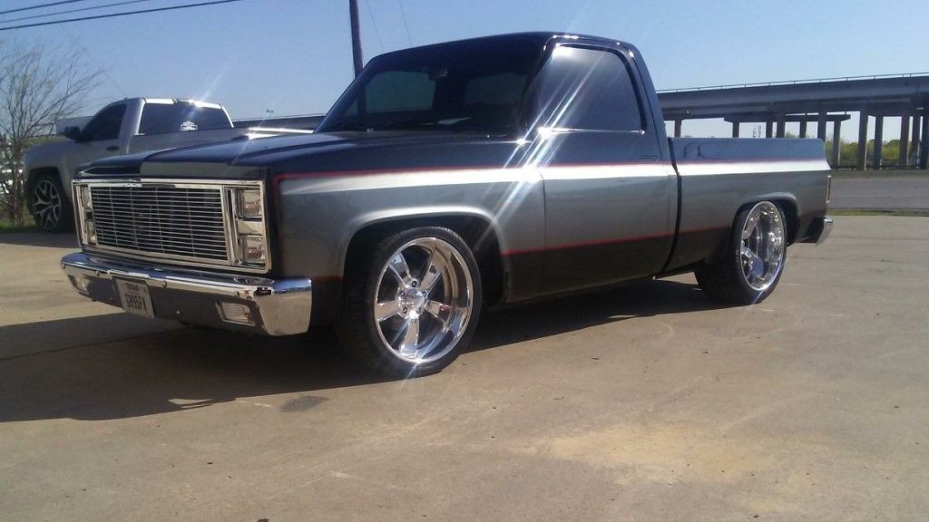 1965 Chevy Truck For Sale In Texas >> Very Clean frame off 1982 Chevrolet C 10 custom for sale