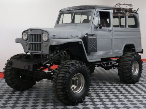 Blazer frame 1954 Willys Wagoneer custom truck for sale