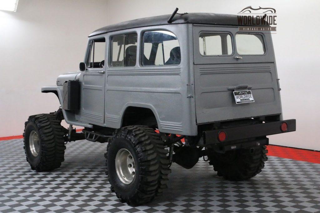 Blazer frame 1954 Willys Wagoneer custom truck