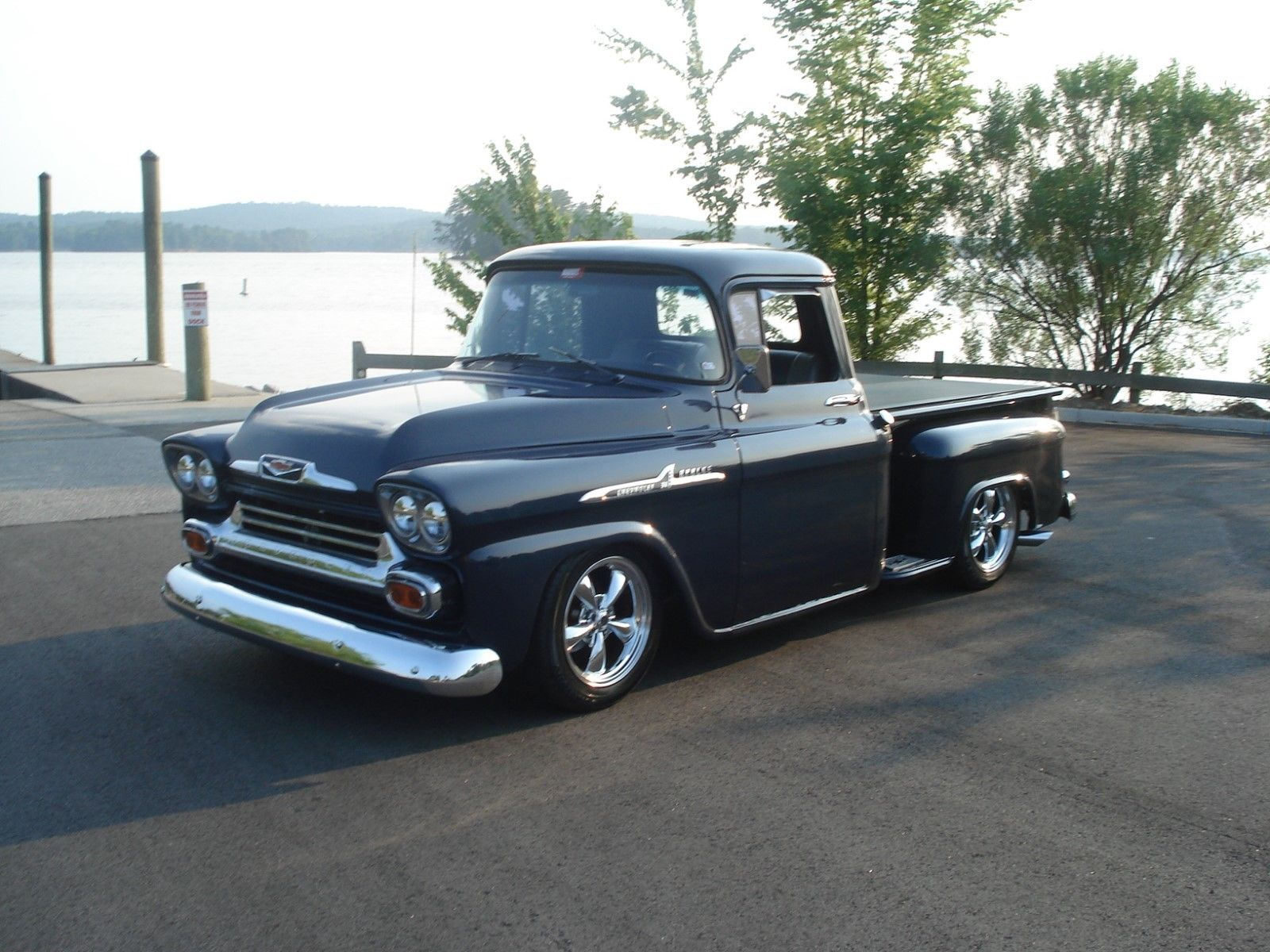 garage kept 1958 gmc clone custom for sale. Black Bedroom Furniture Sets. Home Design Ideas