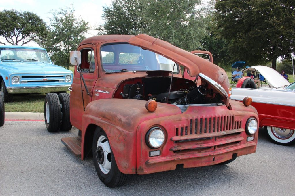 heavily modified 1952 international harvester custom truck for sale. Black Bedroom Furniture Sets. Home Design Ideas