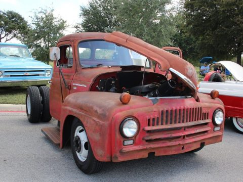 heavily modified 1952 International Harvester custom truck for sale