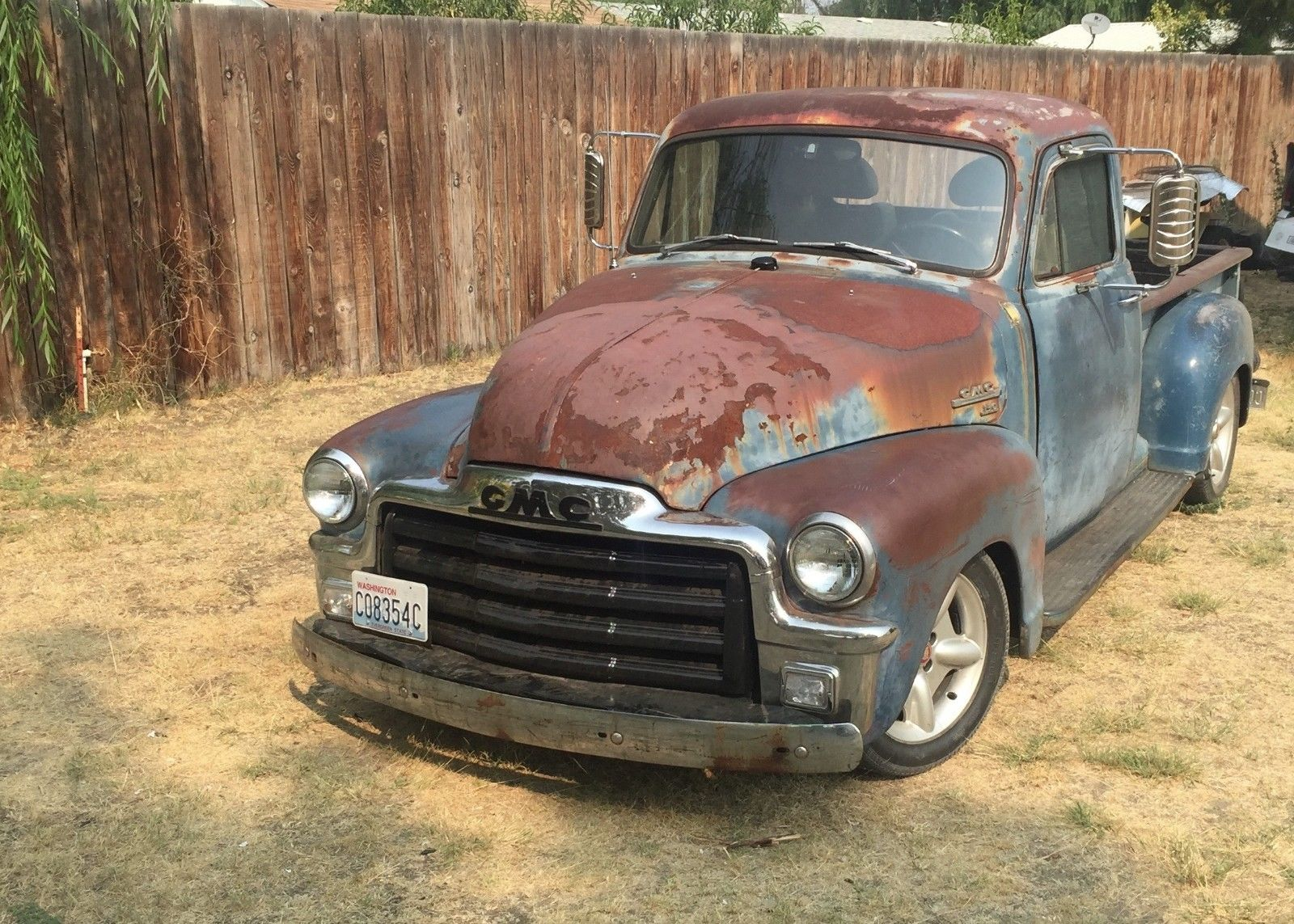 modernized 1954 gmc pick up custom for sale