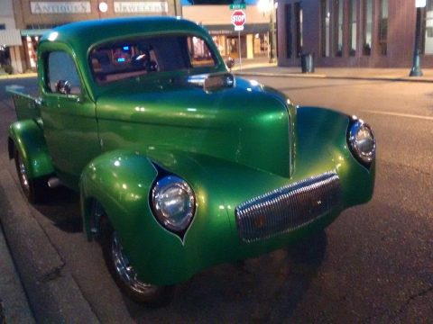 Old school 1941 Willys pick up custom truck for sale