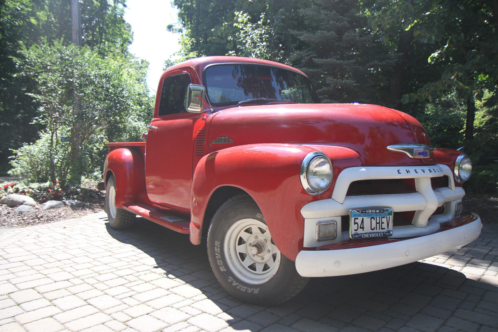 restored 1954 chevrolet pickups custom truck for sale. Black Bedroom Furniture Sets. Home Design Ideas
