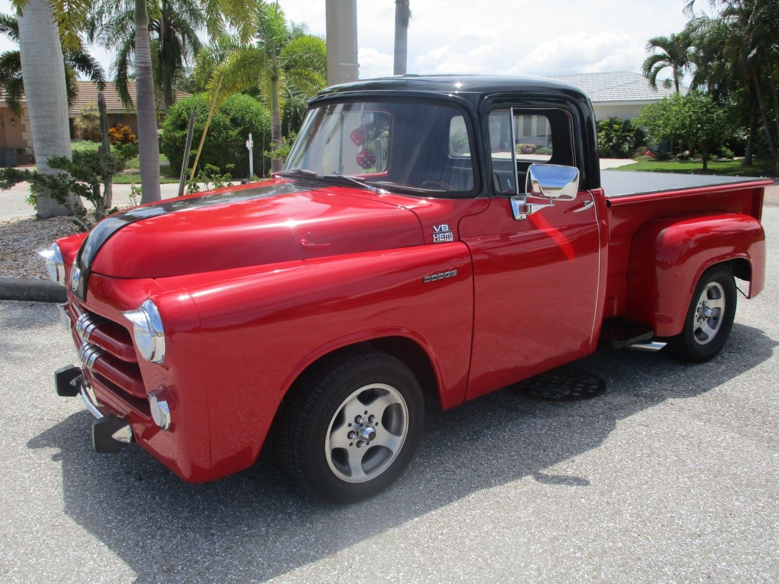 sharp 1955 dodge pickups custom truck for sale. Black Bedroom Furniture Sets. Home Design Ideas