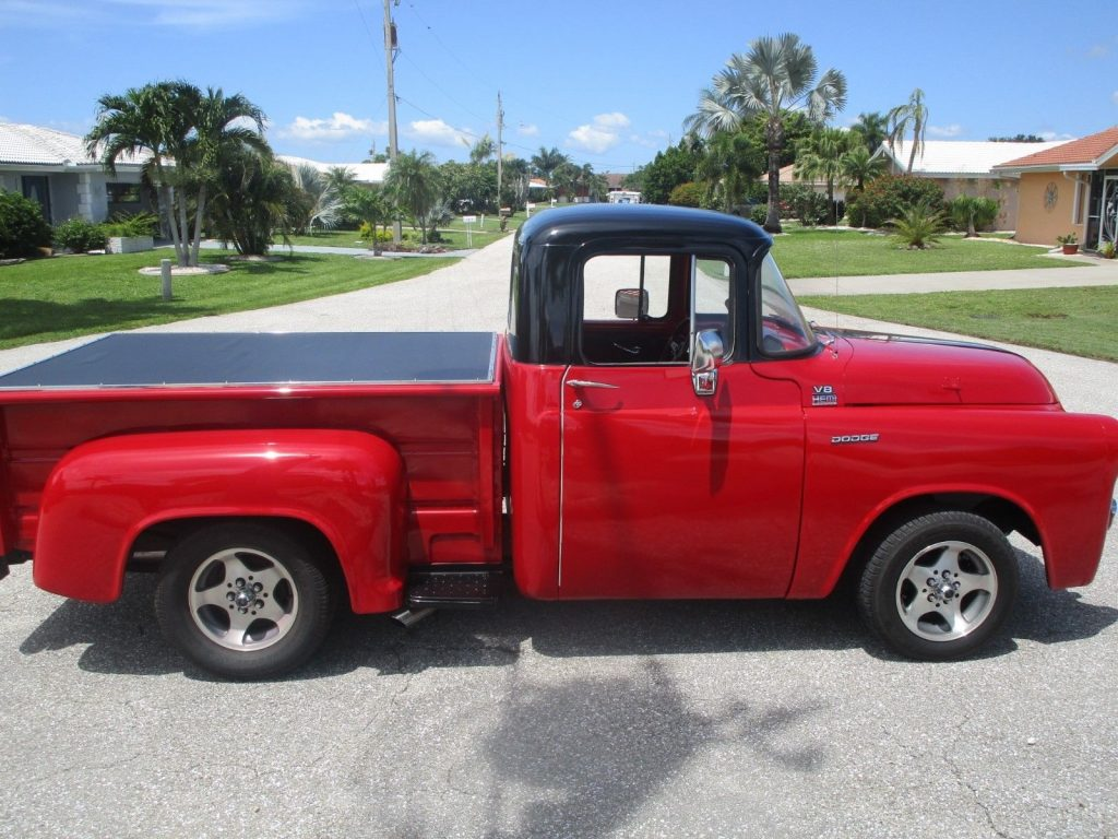 sharp 1955 Dodge Pickups custom truck