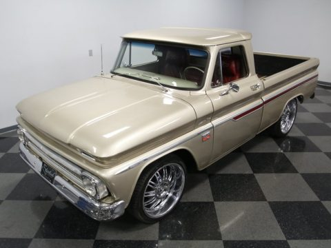 aggressive looking 1966 Chevrolet C 10 custom truck for sale