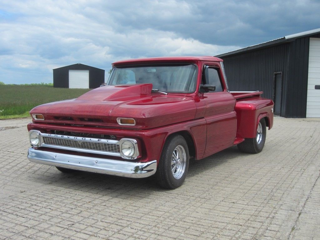 badass 1964 chevrolet pickup custom truck for sale. Black Bedroom Furniture Sets. Home Design Ideas