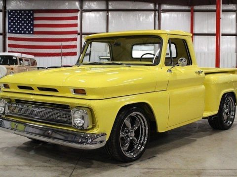 frame off 1965 Chevrolet C 10 custom truck for sale