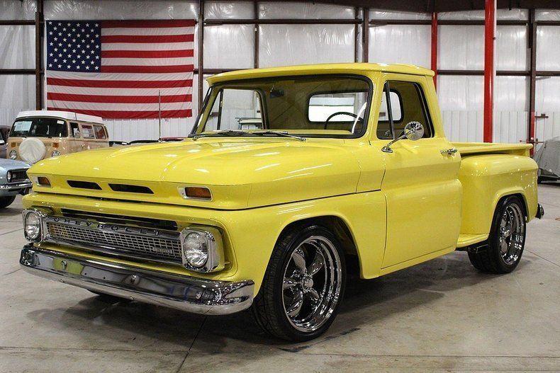 frame off 1965 chevrolet c 10 custom truck for sale. Black Bedroom Furniture Sets. Home Design Ideas