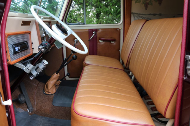frame off resto 1956 Willys Delivery Wagon custom rare