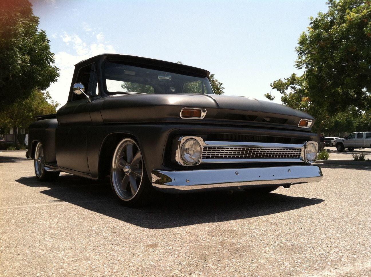 full restoration 1965 chevrolet c 10 stepside custom truck for sale. Black Bedroom Furniture Sets. Home Design Ideas