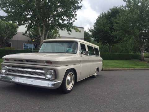 new build 1965 Chevrolet Suburban Custom truck for sale