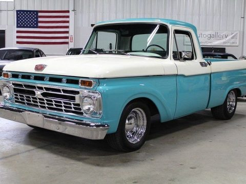 newer engine 1965 Ford F 100 custom truck for sale