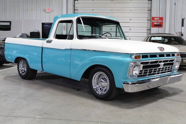 Newer engine 1965 ford f 100 custom truck for sale for Truck motors for sale