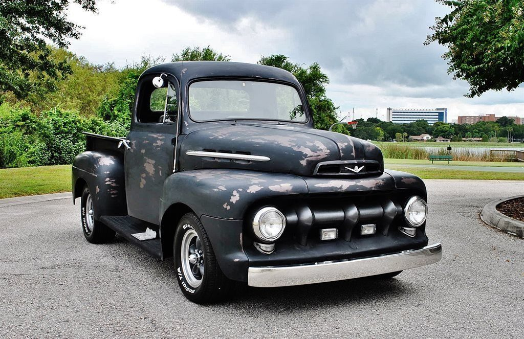 Patina 1951 Ford Pickups Custom Truck For Sale