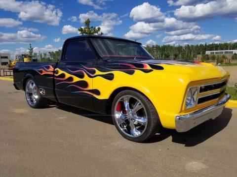 badass 1967 Chevrolet C 10 custom for sale