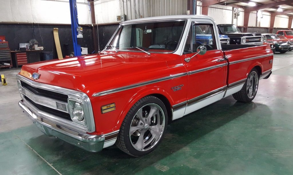 cool wheels 1970 chevrolet c 10 cst pickup custom for sale. Black Bedroom Furniture Sets. Home Design Ideas