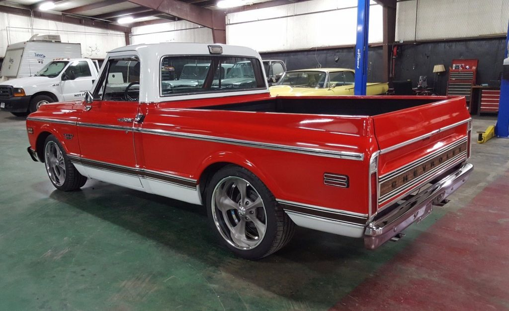 Cool Wheels 1970 Chevrolet C 10 Cst Pickup Custom For Sale