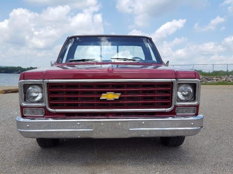 flawless paint 1977 Chevrolet C 10 custom truck for sale