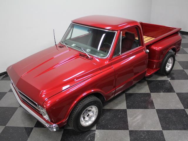 freshly rebuilt engine 1968 Chevrolet C 10 custom
