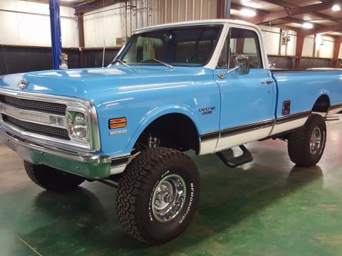 lifted 4×4 1970 Chevrolet C 10 pickup custom for sale