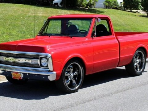 modified 1970 Chevrolet C 10 custom pickup restored for sale