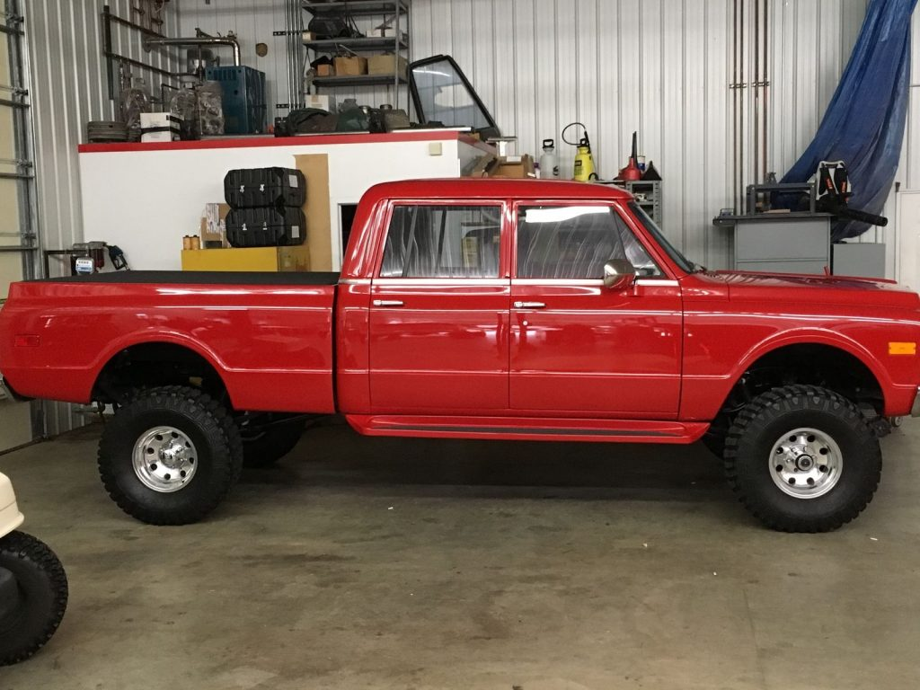 show quality 1971 chevrolet c  k pickup 1500 custom for sale