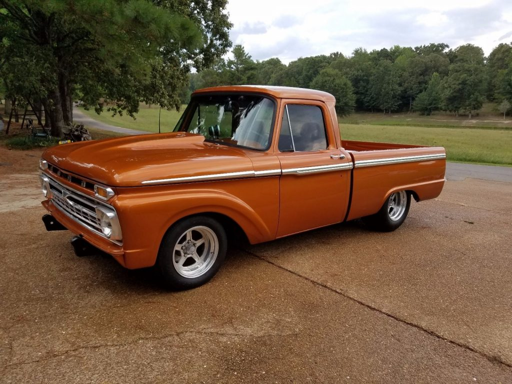 super fast 1966 ford f 100 custom truck for sale. Black Bedroom Furniture Sets. Home Design Ideas