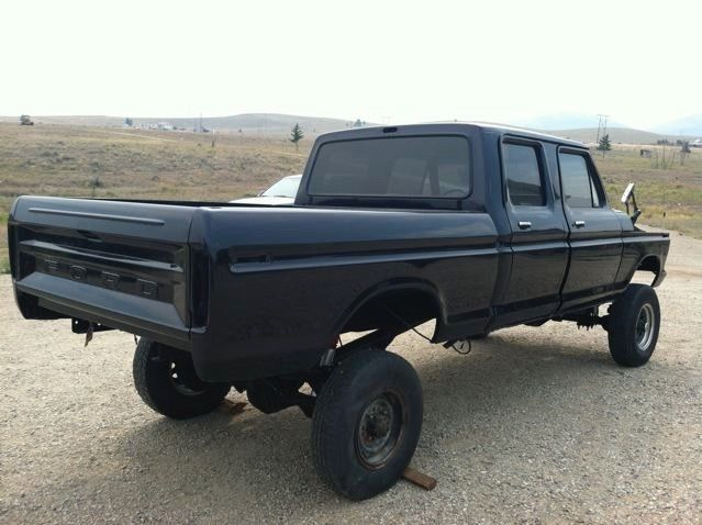 Very nice 1977 Ford F 250 custom truck