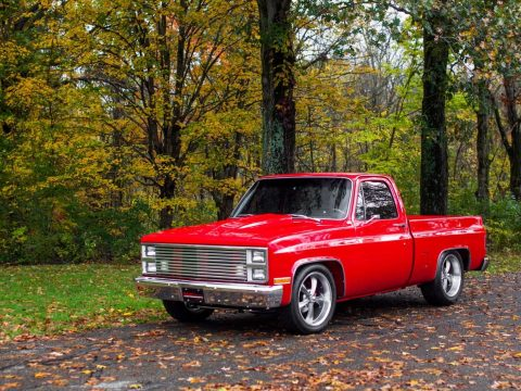 completely restored 1981 GMC Sierra 1500 custom truck for sale