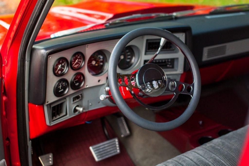 completely restored 1981 GMC Sierra 1500 custom truck