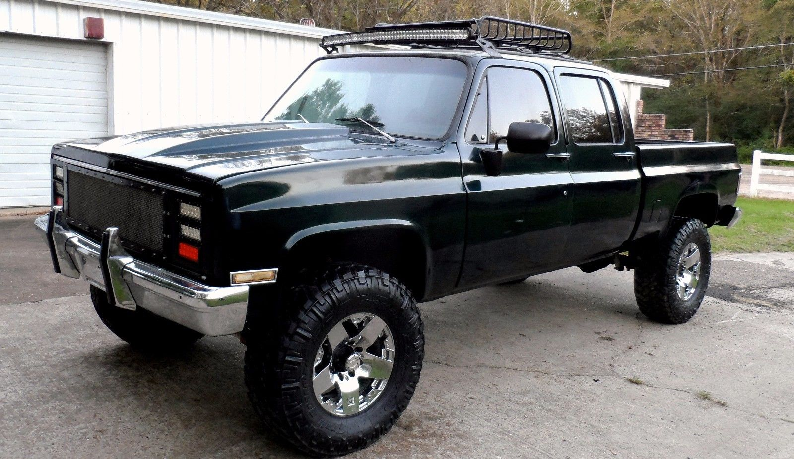 Converted 1982 Chevrolet Silverado 3500 Custom Truck For Sale