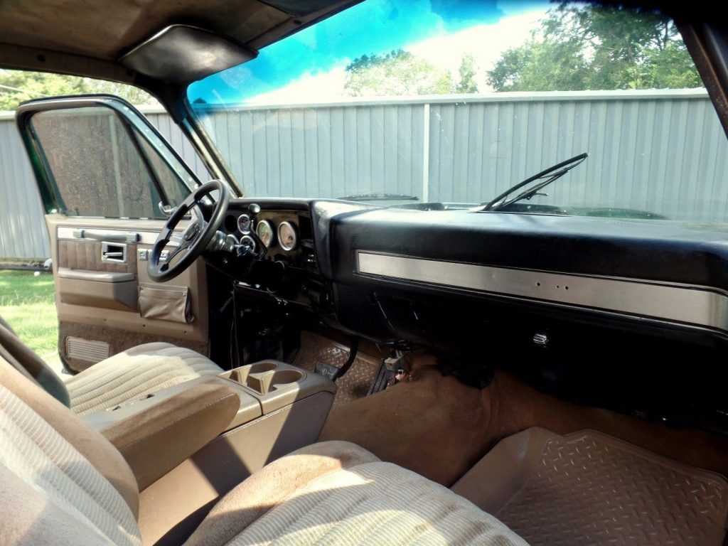 converted 1982 Chevrolet Silverado 3500 custom truck