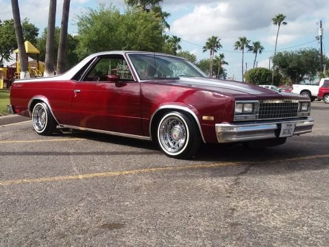 fresh paint 1984 Chevrolet El Camino custom truck for sale